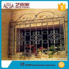 china supplier 2016 latest window grill design/simple iron window grills designs home/window grill design india