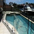 10mm 12mm tempered glass for Swimming Pool Fence