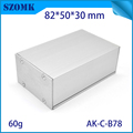 New product extruded aluminum box electrical enclosure 30*50*82mm