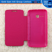 Factory price flip back cover for alcatel 5020, flip battery case for 5020