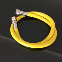 Cooker natural gas hose with PVC coated