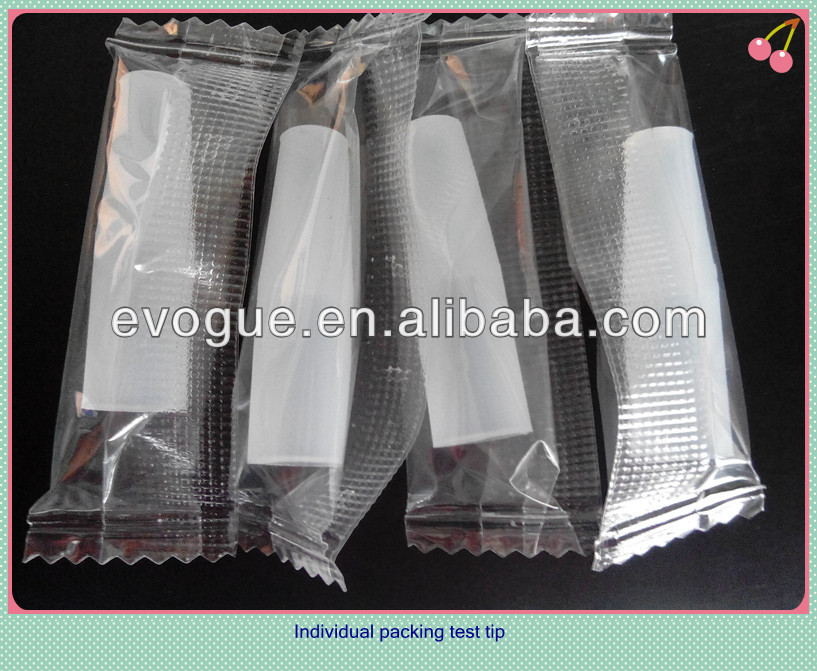 testing tips for Disposable E Cigarette with Soft Filter Tip