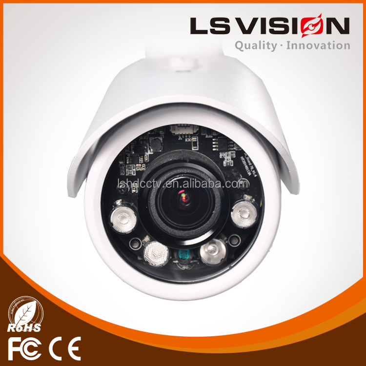 LS VISION poe onvif 3 megapixel wdr cctv camera outdoor hd sdi ir bullet camera 1080p outdoor professional bullet ir camera