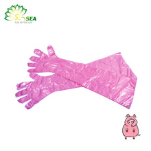 Disposable Plastic Long Surgical Gloves, Long Protective Gloves