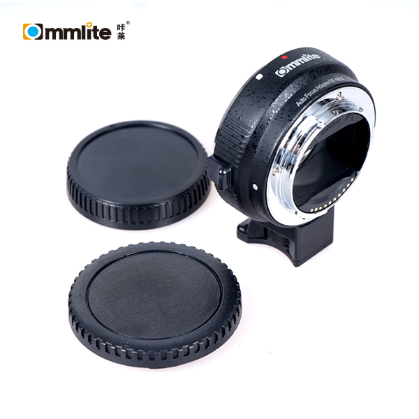 Commlite Most Popular Electronic Auto Focus Lens mount adapter EF-NEX for Canon EF lens to E-mount camera