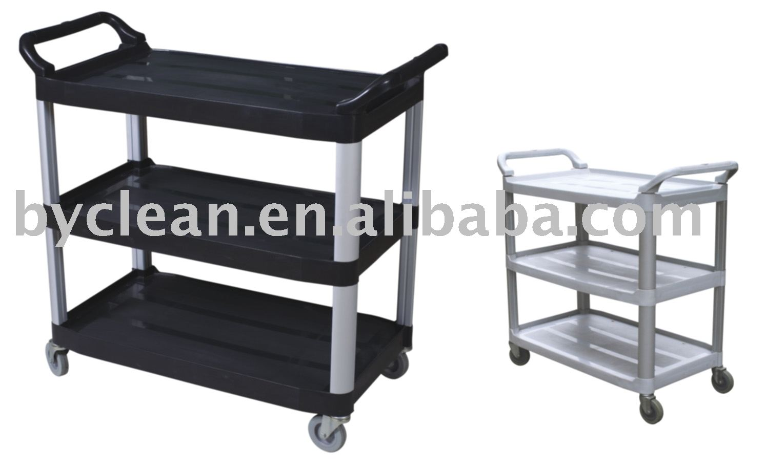 Multi-Functional 3 Levels Dining Serving Cart With Wheels