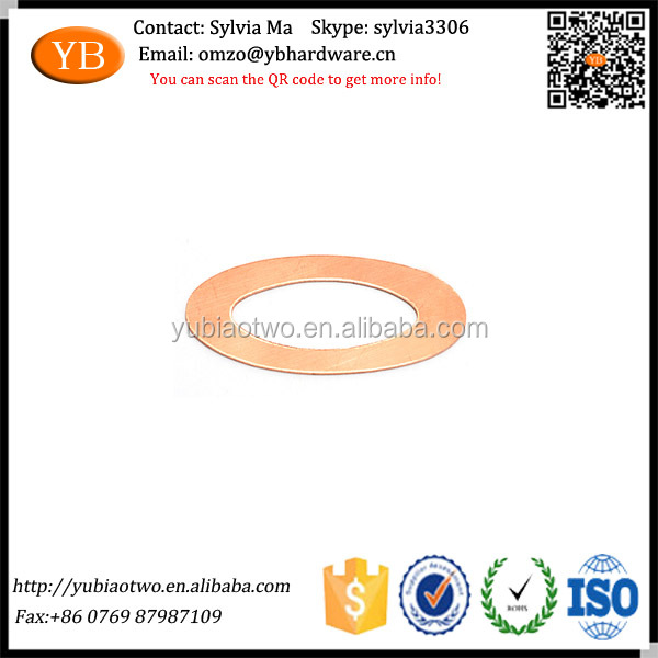 ODM Fastener Oval Sheet Metal Washer Made in China