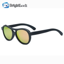 Brightlook colorful design wooden sunglasses 2017