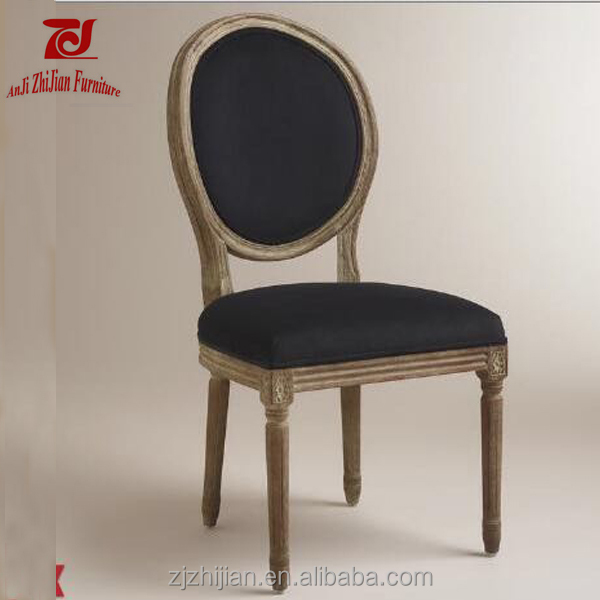 Black Louis Chair Used Dining Room Furniture For Sale ZJF81b