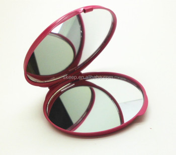 New arrival stainless steel high quality pocket mirror for lady form china factory
