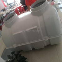 fiberglass septic tanks for sale, toilet septic tank, 1m3 fiberglass septic tank