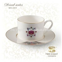 wholesale coffee cup and mug with decal design