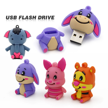 usb flash drive pendrive cartoon version with custom logo, customer assigned cartoon