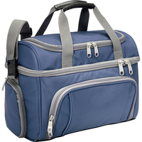 Bottom cold compartment insulated bag