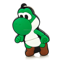 Cartoon flash drive pendrive 64gb usb flash 4g8g16g32g Game character Yoshi usb stick Usb2.0 pen drive free shipping memoria usb