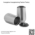 Factory Stocked 500ml double wall insulated stainless steel Stemless Wine Glass with Leak Proof Sealed Lid
