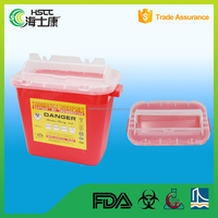 Cheap Plastic 10L Sharps Containers/sharp container