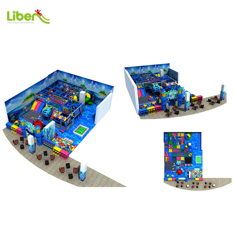 With Ball Pool Ocean Theme Child Inside Play Structures