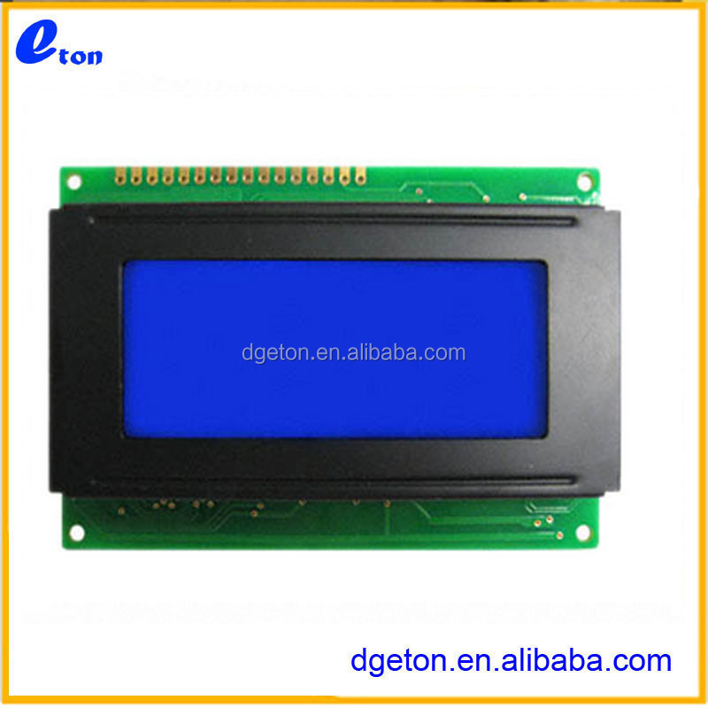 5V 18PIN Parallel interface 122x32 stn yellow-green lcd module