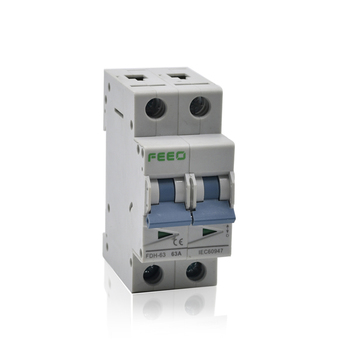 long life and safe 2P 32a DC Isolation 50/60hz isolator isolating switches