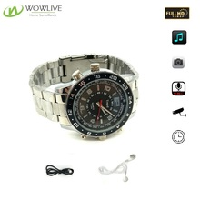Hot Selling Hand Wrist Watch Camrecorder 1080P HD Built-in 8GB Memory IR Night Vision Smart Hidden Spy Watch Camera
