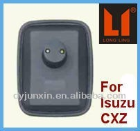 well sale car side mirror of auto dimming mirror for isuzu cxz series
