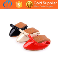 multicolor wholesale foldable ballet shoes flats