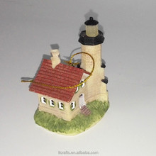 polyresin lighthouse model type decorative lighthouse models for tourist souvenir