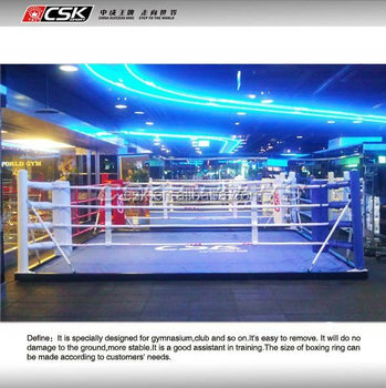 GX9820 CSK Floor Boxing Ring 4m*4m--6m*6m Gym Boxing Ring