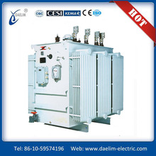oil immersed transformer specification