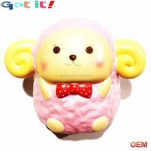 China toy factory custom new PU foam jumbo animal scented squishy squeeze soft kids toy