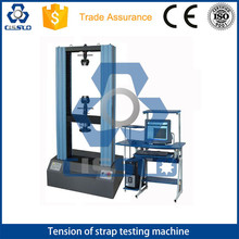 POLYESTER PET POLYPROPYLENE PP STRAPPING BAND BELT STRAP TENSION TENSILE BREAKING STRENGTH MEASURE MACHINE
