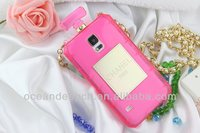 Perfrume bottle case for samsung galaxy s5 case i9600 2014 new product
