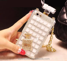 China factory supply Rhinestone Perfume diamond case luxury cell phone case for iPhone 6/6s and iPhone 6/6s plus