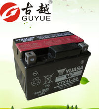 mf motorcycle battery 12v 3ah with good quality YTX4L-BS