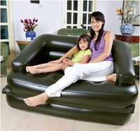 2015 recliner function sofa cum bed design folding 5 in 1 air sofa, plastic inflatable 5 in 1 air sofa bed