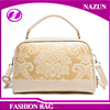 Chinese traditional style lady leather shoulder bag hand bag