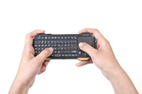 2015 latest mini touch bluetooth wireless keyboard for panasonic viera smart tv