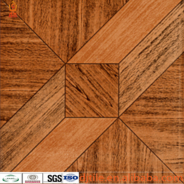 300X300 Low Price New wood look porcelain floor tile / ceramic wood