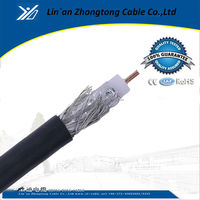 COAX F Type RG-6 COAXIAL TV ANTENNA SATELLITE DVR CABLE DVD VCR DIRECTV