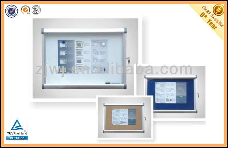 Jiangsu Jiangyin Glass Wall Mounted Display Case with key