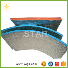 Foil Backed PE Foam Heat Insulation Material Building Insulation Board