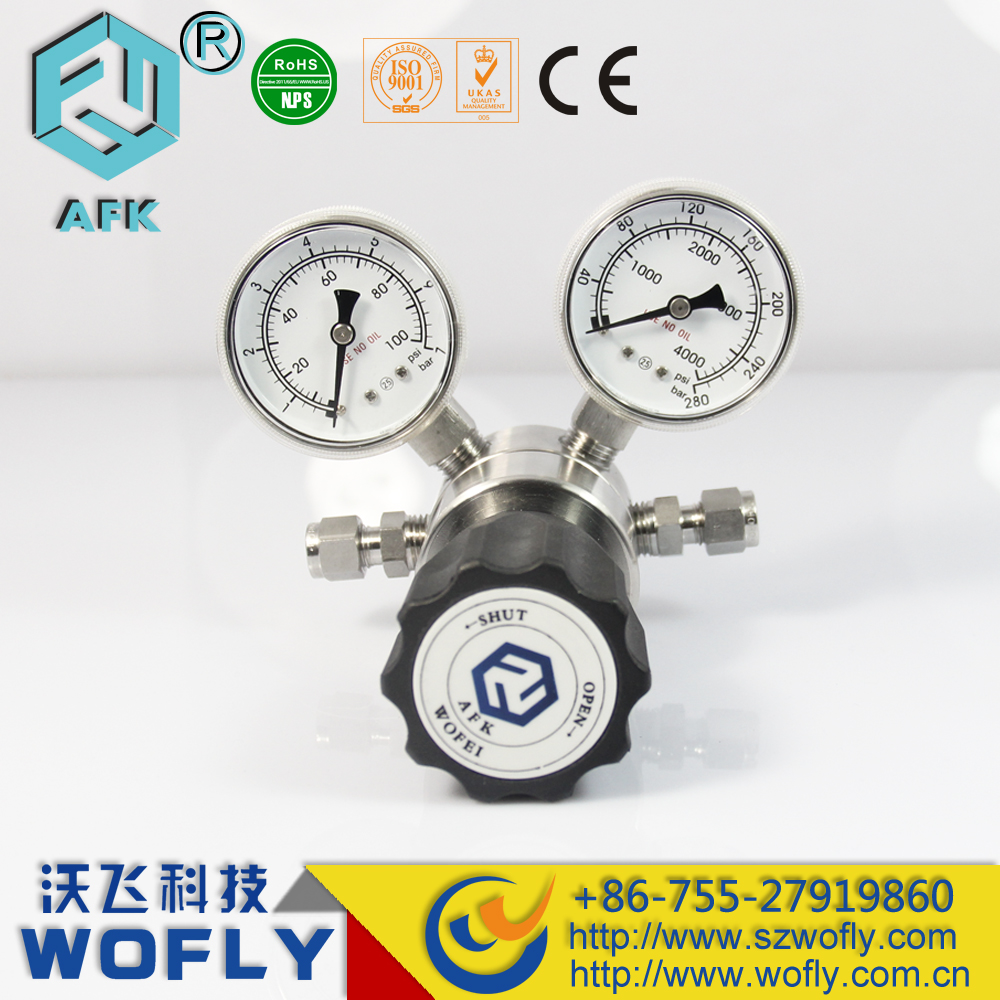 oxygen CO2 gas plant growth pressure regulator