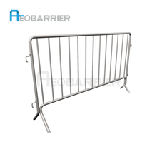 AEOMESH Galvanized Stainless Steel Safety Road Barrier/Removable Fence Supplier In China