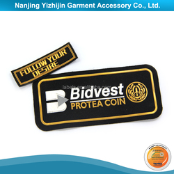 Eco-friendly soft pvc/rubber/silicone slim patch