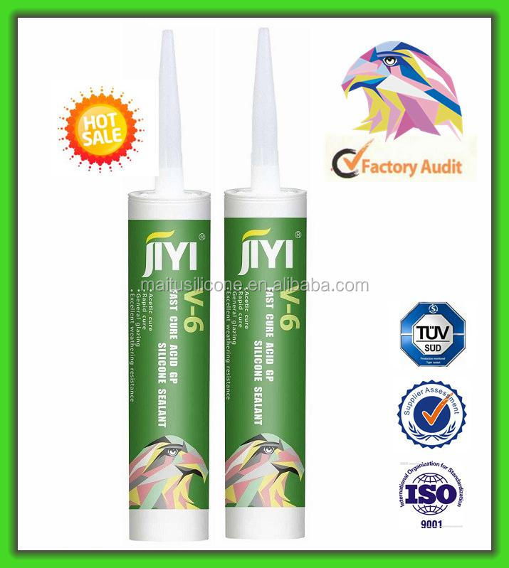 GP Transparent Acetic Silicone Sealant/ Acetoxy Clear Silicone Sealant Adhesive