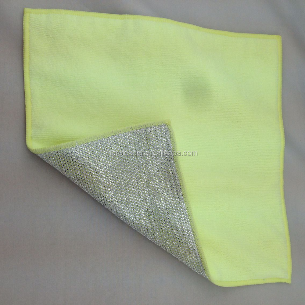 Microfiber cleaning cloth for kitchen washing