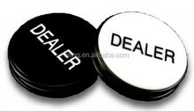 Big Blind\Small Blind Dealer Button round ribbon rosette badge