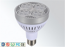 5W high power LED spotlight high quality 12v bulb e27 indoor par 30 par38 light fitting