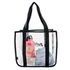 Fashion Utility Customized Cooler Cheap Clear Tote Bag For Girls
